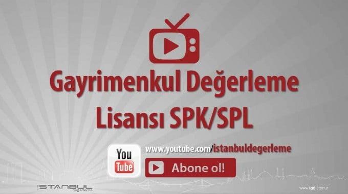 Gayrimenkul Değerleme Lisansı SPK SPL