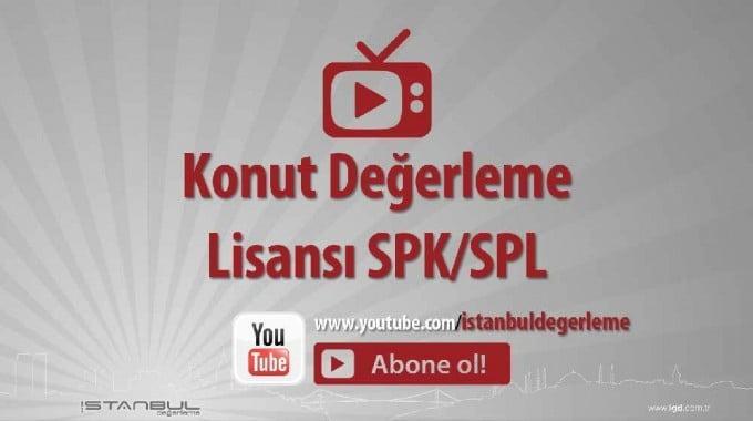Konut Değerleme Lisansı SPK SPL