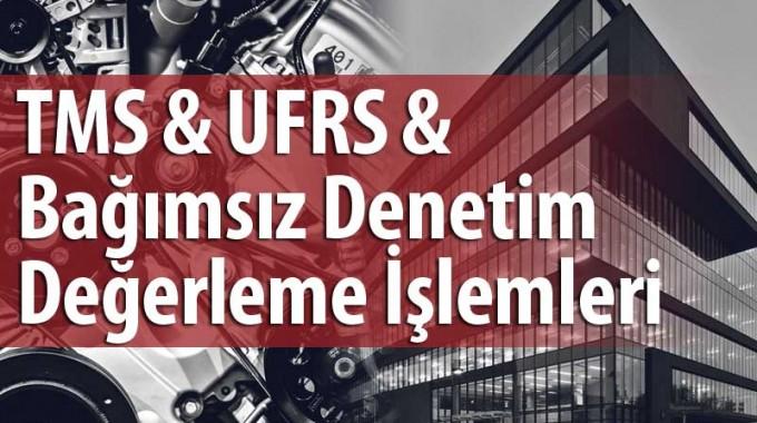 TMS UFRS Bağımsız Denetim Değerlemesi