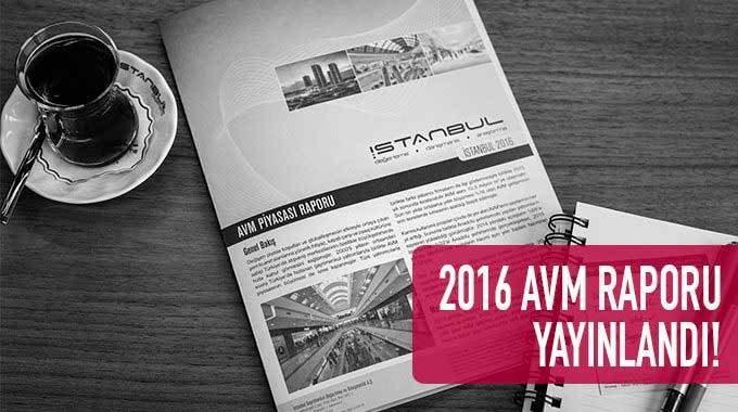 2016 AVM Piyasası Raporunu Yayınladık